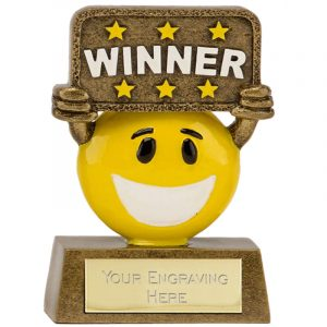 Smiley Face Trophies